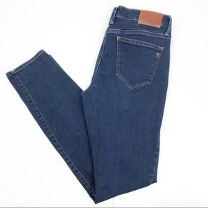 Madewell High Rise Skinny Jeans Blue Size 29